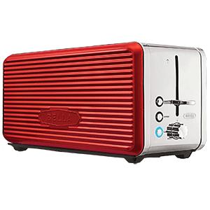 bella linea 4 slice long slot toaster