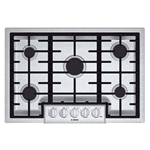 Bosch Stainless Steel Gas Sealed Burner Cooktop
