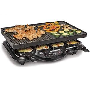 hamilton beach 31612 mx raclette indoor grill