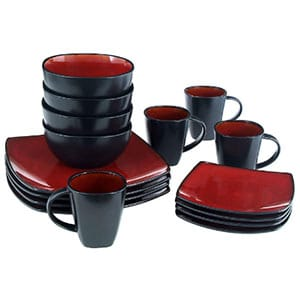 gibson elite soho lounge dinnerware set