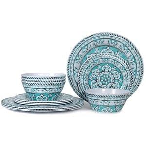 hware melamine dinnerware set
