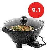 vonshef electric wok