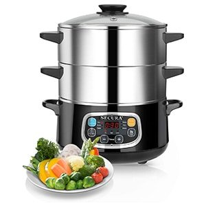secura electric food steamer