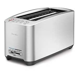 beville 4 slice long slot toaster