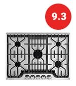 frigidaire professional 30-inch gas cooktop