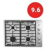 ge jgp3030slss gas cooktop with max system