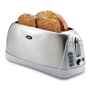 oster long slot toaster