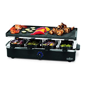 salton raclette indoor electric party grill