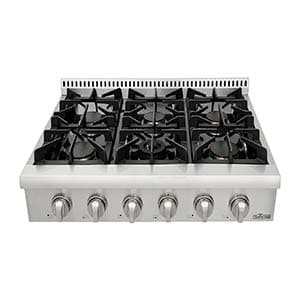 thor kitchen pro style gas cookstoves burner