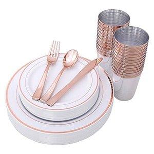 plastic disposable silverware set