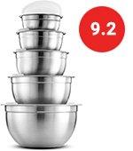 Premium Steel Mixing Bowls