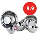 Top Stainless Steel Mixing Bowls