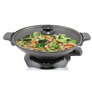 continental chef electric wok