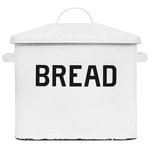 creative enameled bread box