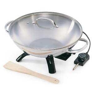 presto stainless steel electric wok