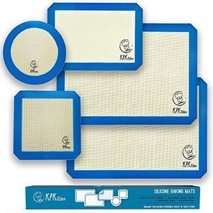 silicone baking mats set