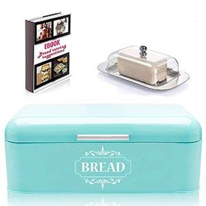 vintage bread box for kitchen